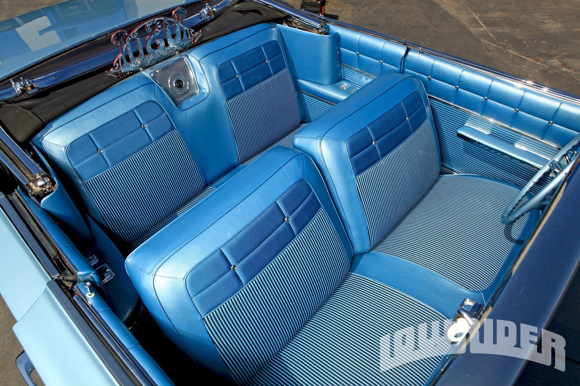 1962 Impala Convertible Upholstery Car Interior Car Seats Impala