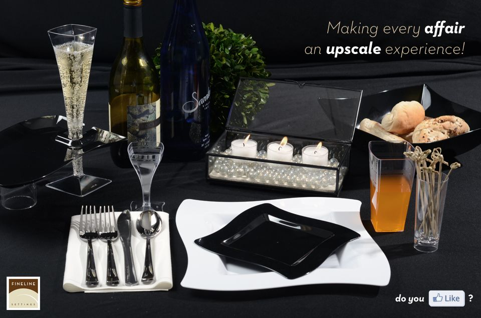Making every affair an upscale experience with Premium Disposable Dinnerware it\u0027s the way to do & Making every affair an upscale experience with Premium Disposable ...