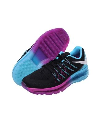new products 0c020 4607e Tenis Air max 2015 Nike. Tenis deportivos, color negro, superficie de malla  transpirable