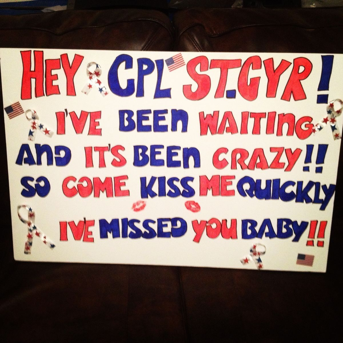 military welcome home sign cute pinterest military