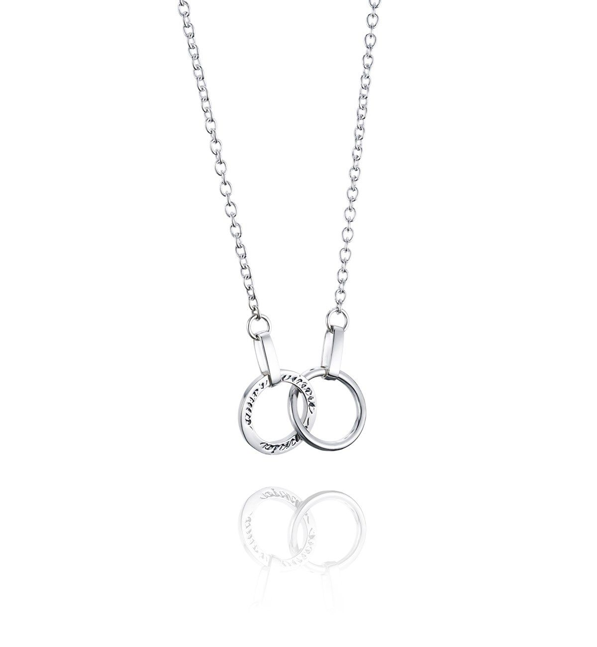 Twosome Necklace - Silver - Halsband - Efva Attling