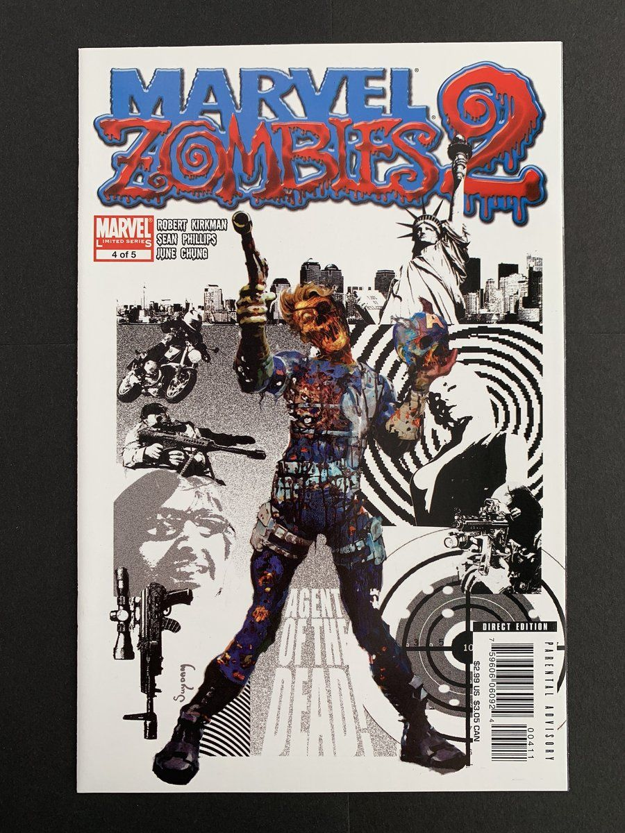 Marvel zombies 2 2007 4 in near mint nm condition