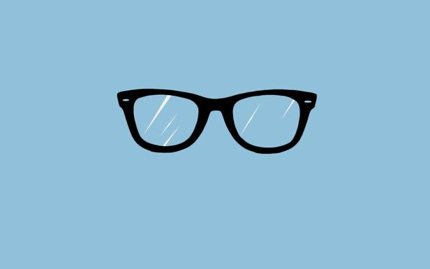 Wayfarer By Nick Eshnaur Simple Desktops Glasses Wallpaper Nerd Glasses Nerdy Glasses