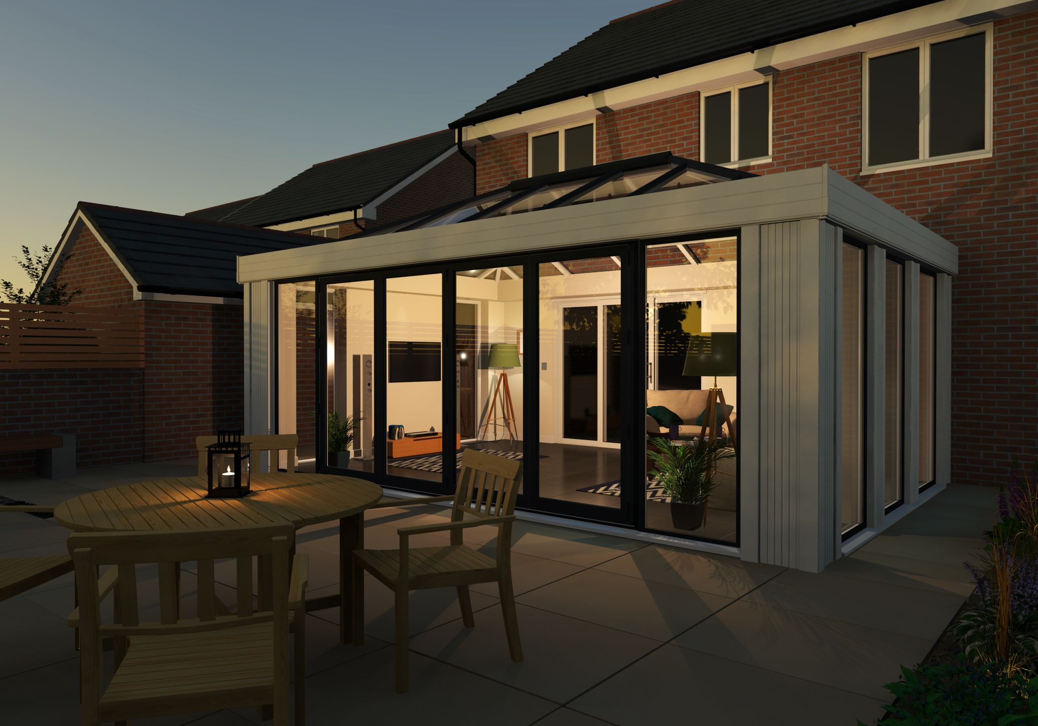 Modern Home Extension Conservatory