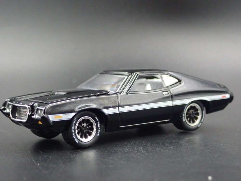 1972 72 Gran Torino Sport Rare 1 64 Scale Collectible Diorama Diecast Model Car Ford Ford In 2020 Diecast Model Cars Plymouth Hemi Cuda Mustang Cobra