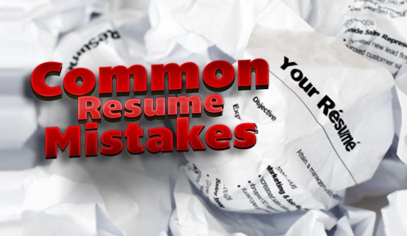 Never Make these five resume MISTAKES - resume mistakes