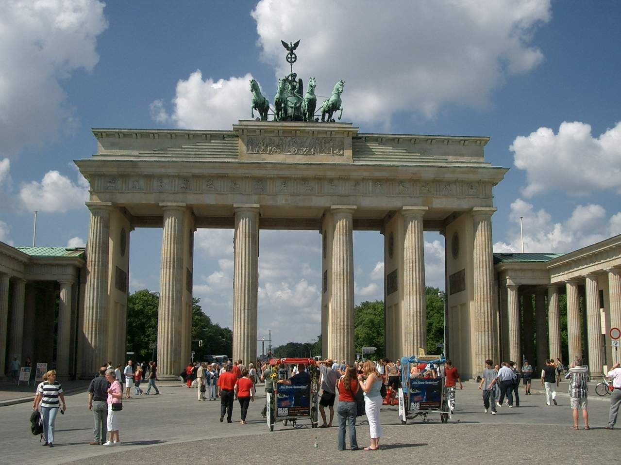 Brandenburg Tor Berlin Germany Brandenburger Tor Deutschland Stadt