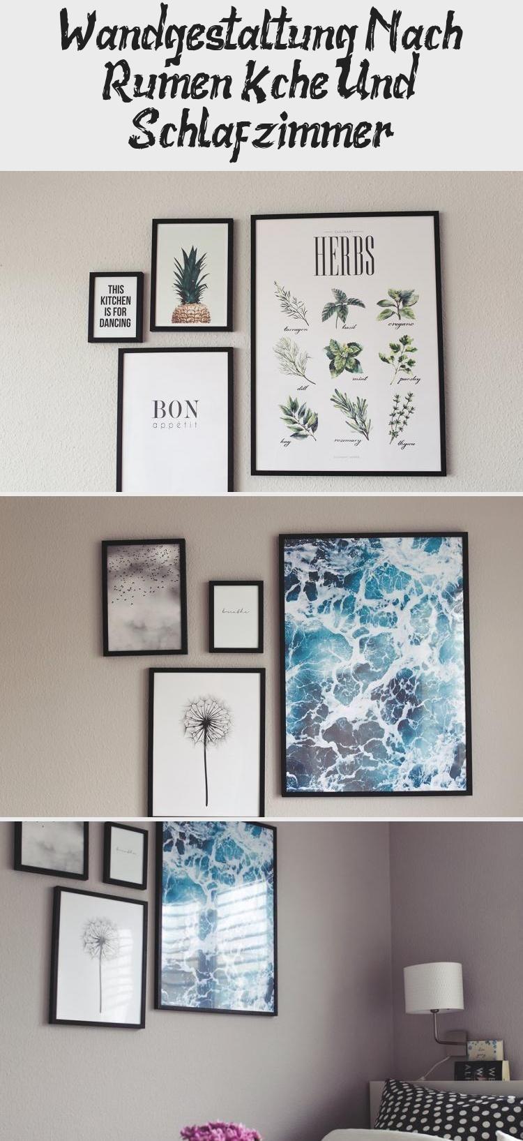 Wandgestaltung Nach Räumen: Küche Und Schlafzimmer in 19  Decor