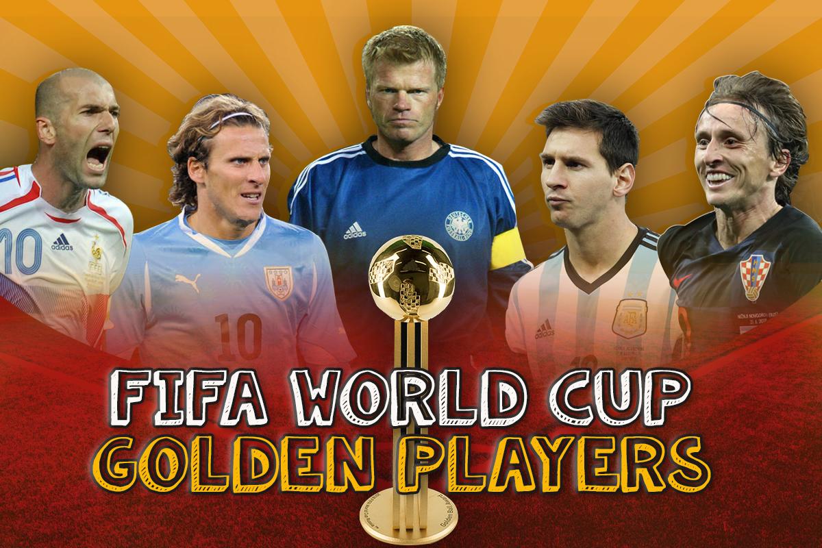 Reciting Success Of Fifa Golden Ball Winners Who Set World Cup Ablaze Man Of The Match Fifa World Cup