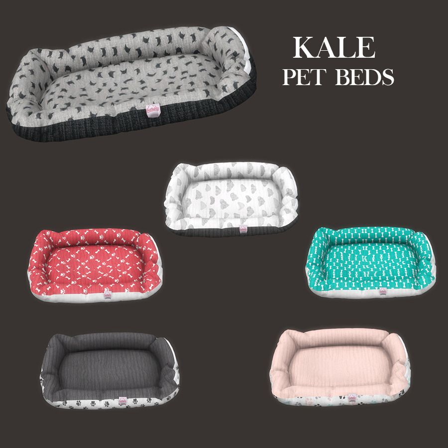 Sims 4 Dylan Sofa Beds Lana Cc Finds Kale Pet Bed By Leosims Sims 4 Pinterest Pet