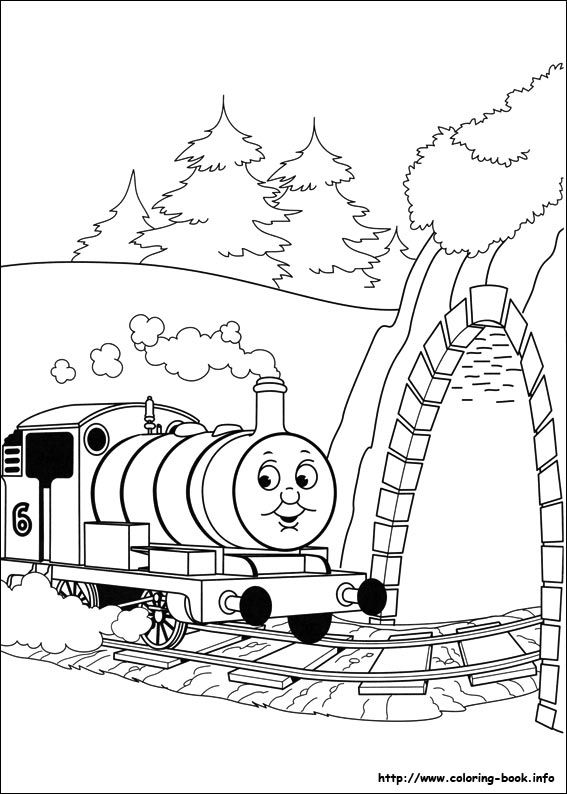Thomas And Friends Coloring Pages Thomas And Friends Train
