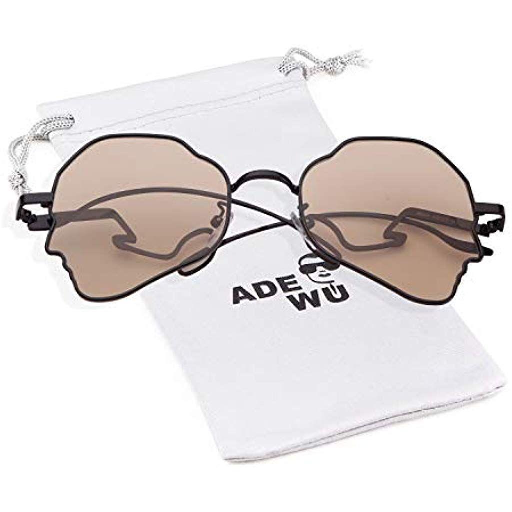 6982f268545 ADEWU - Vintage Retro - lunettes rondes à lunettes transparentes en métal -  unisexe  lunettes