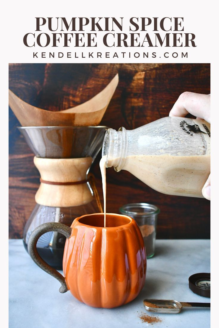 Homemade Pumpkin Spice Coffee Creamer Recipe Spiced