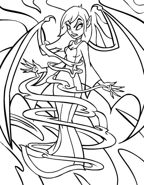 Scary Coloring Pages Fairy Coloring Pages Scary Coloring Pages Monster Coloring Pages