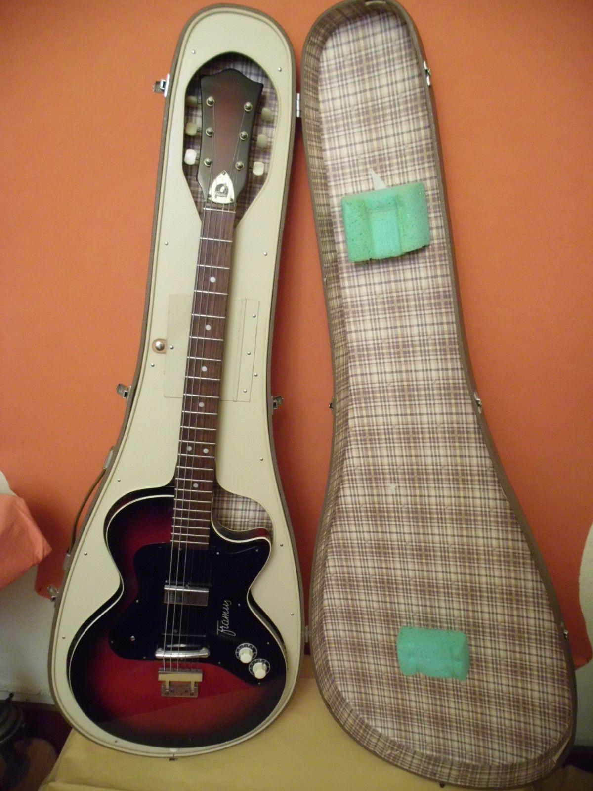 Real Vintage Framus Hollywood Semi Solid E Gitarre mit Original Koffer
