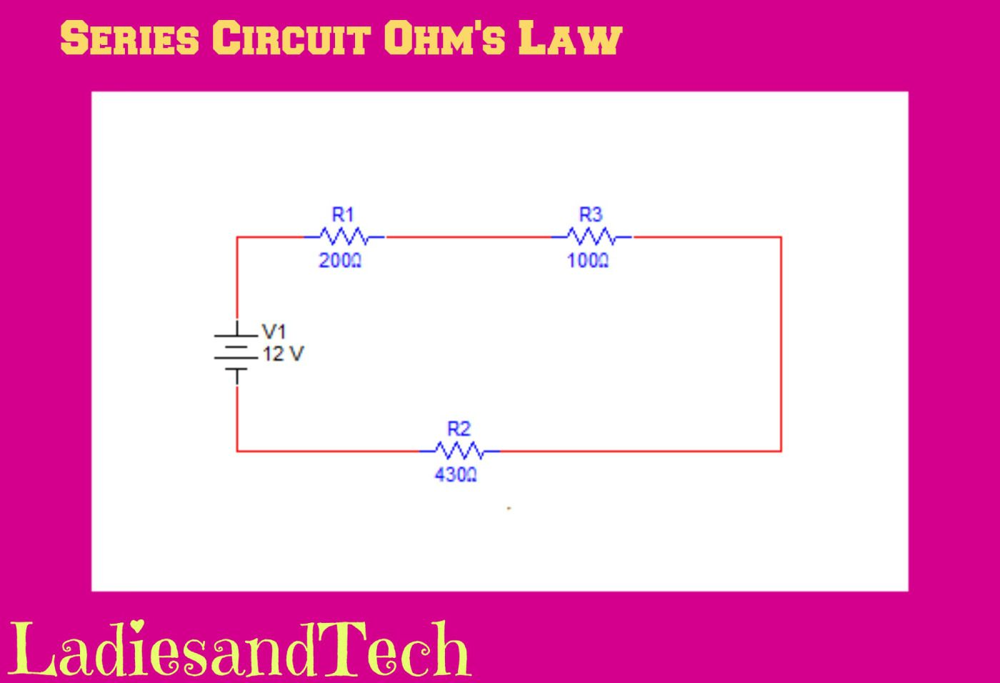 series circuit tutorial electrical electrical theory series rh pinterest com Parallel Circuit Series Circuit Examples