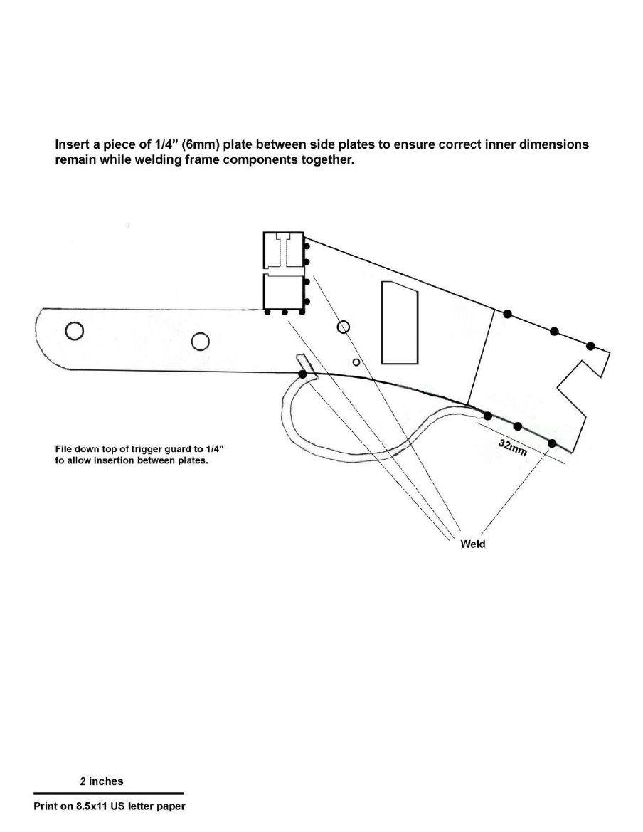 Homemade Break Barrel 12 Gauge Shotgun Construction Plans Guns
