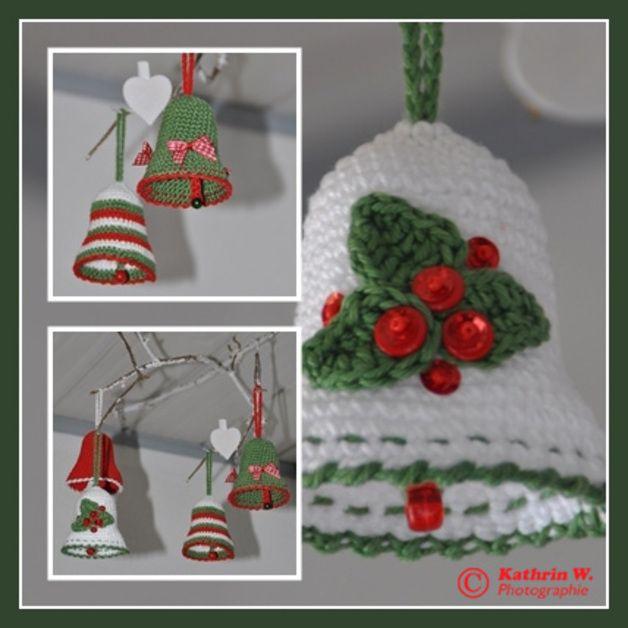 Häkelanleitungen - Häkelanleitung Weihnachts-Glocke *X-mas Bells ...