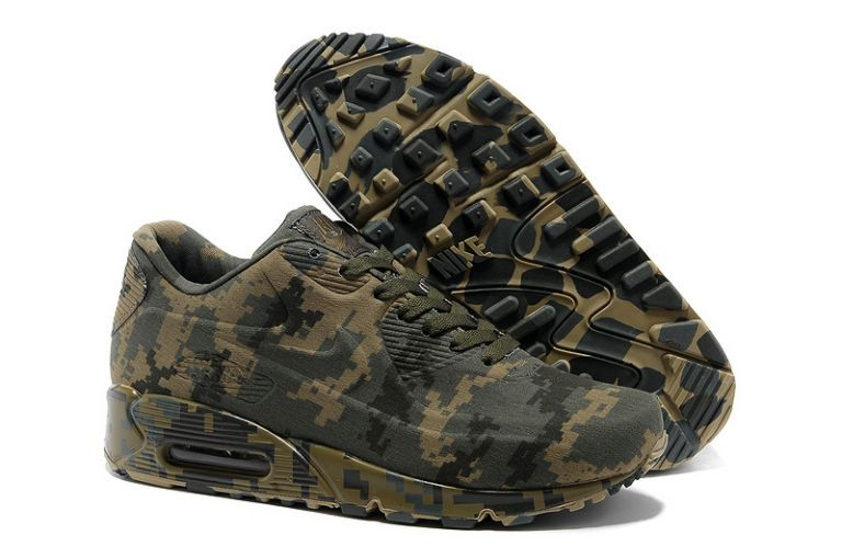 timeless design 3d512 9f938 Air Max 90 VT Camouflage Olive - Nike Air Max 90 Sneakers