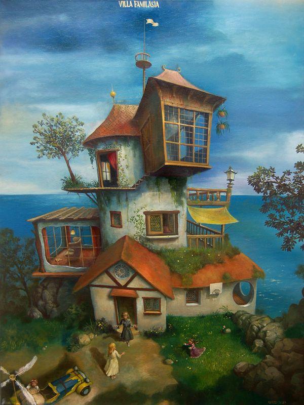 Jose luis serzo pintor surrealista espa ol pintura - Method homes espana ...