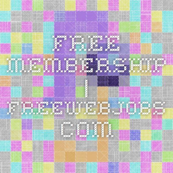 Free Membership | FreeWebJobs.com