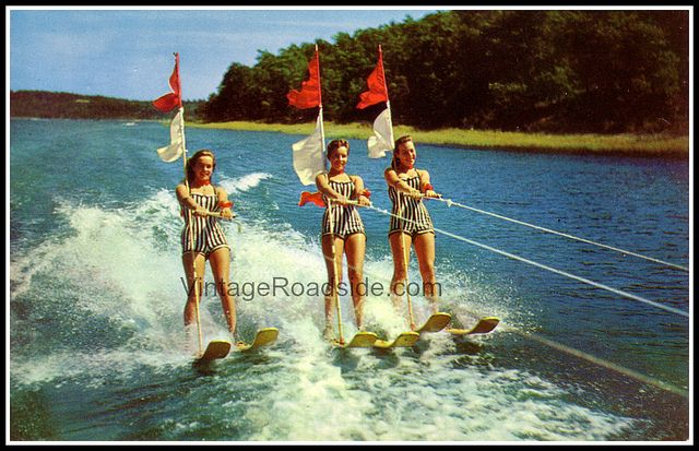 Vintage Lake Of The Ozarks Water Ski Show Water Skiing Lake Fun Lake Ozark