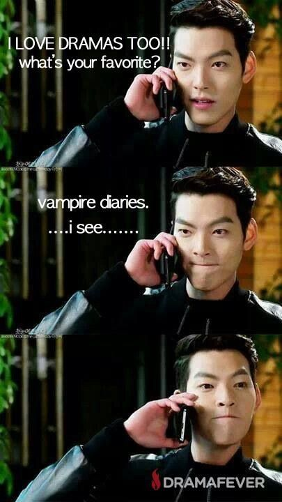 "Love the face...lol. Kim Woo Bin from ""Heirs"" i.e. ""The Inheritors."""
