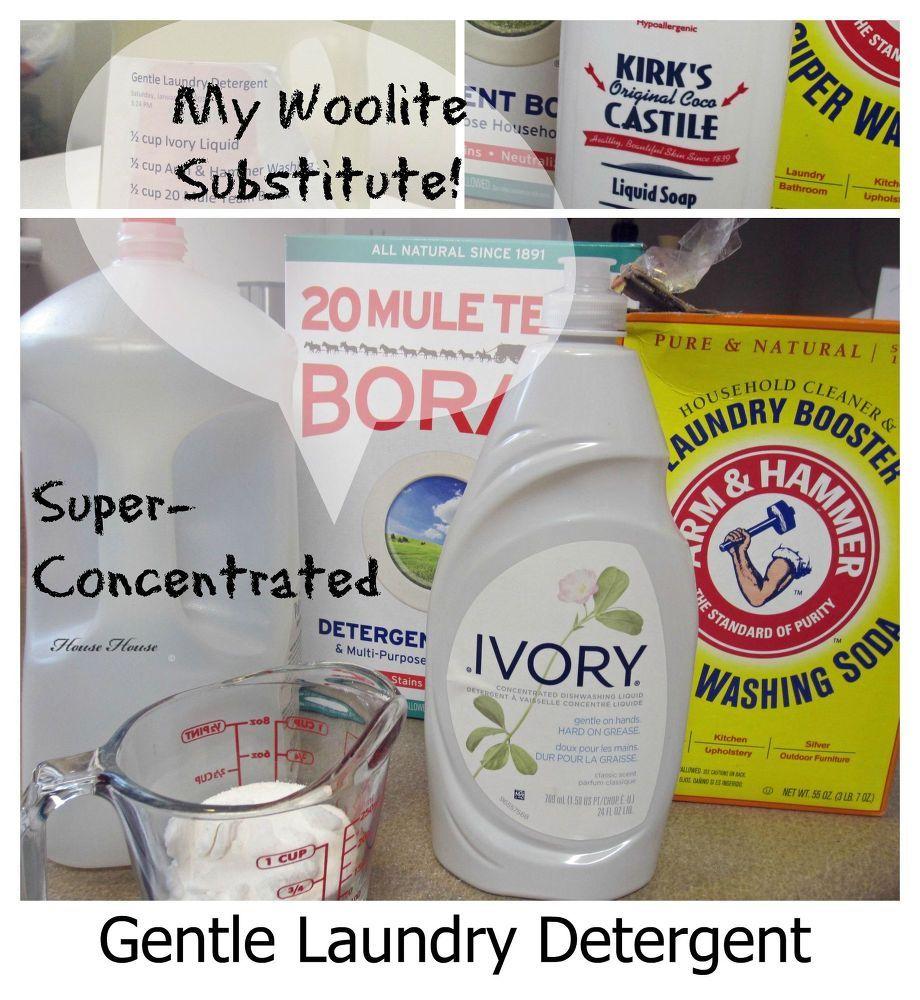 Homemade Gentle Laundry Liquid Gentle Laundry Detergent Laundry