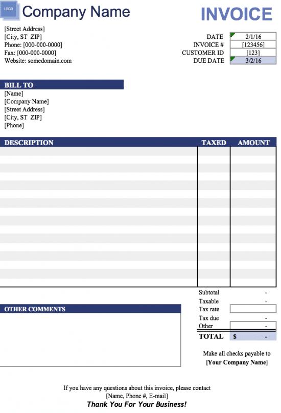 Free Invoice Templates 8 Printable Docs Xlsx Pdf Invoice Template Microsoft Word Invoice Template Invoice Format In Excel