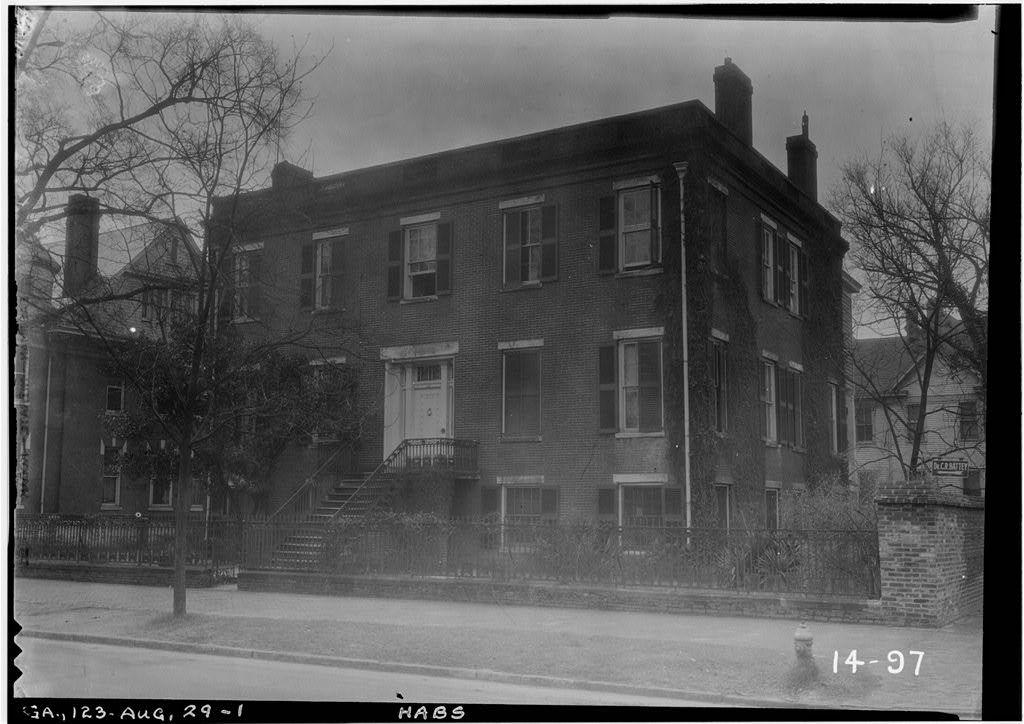 Oertel House 638 Greene Street Augusta Richmond County Ga