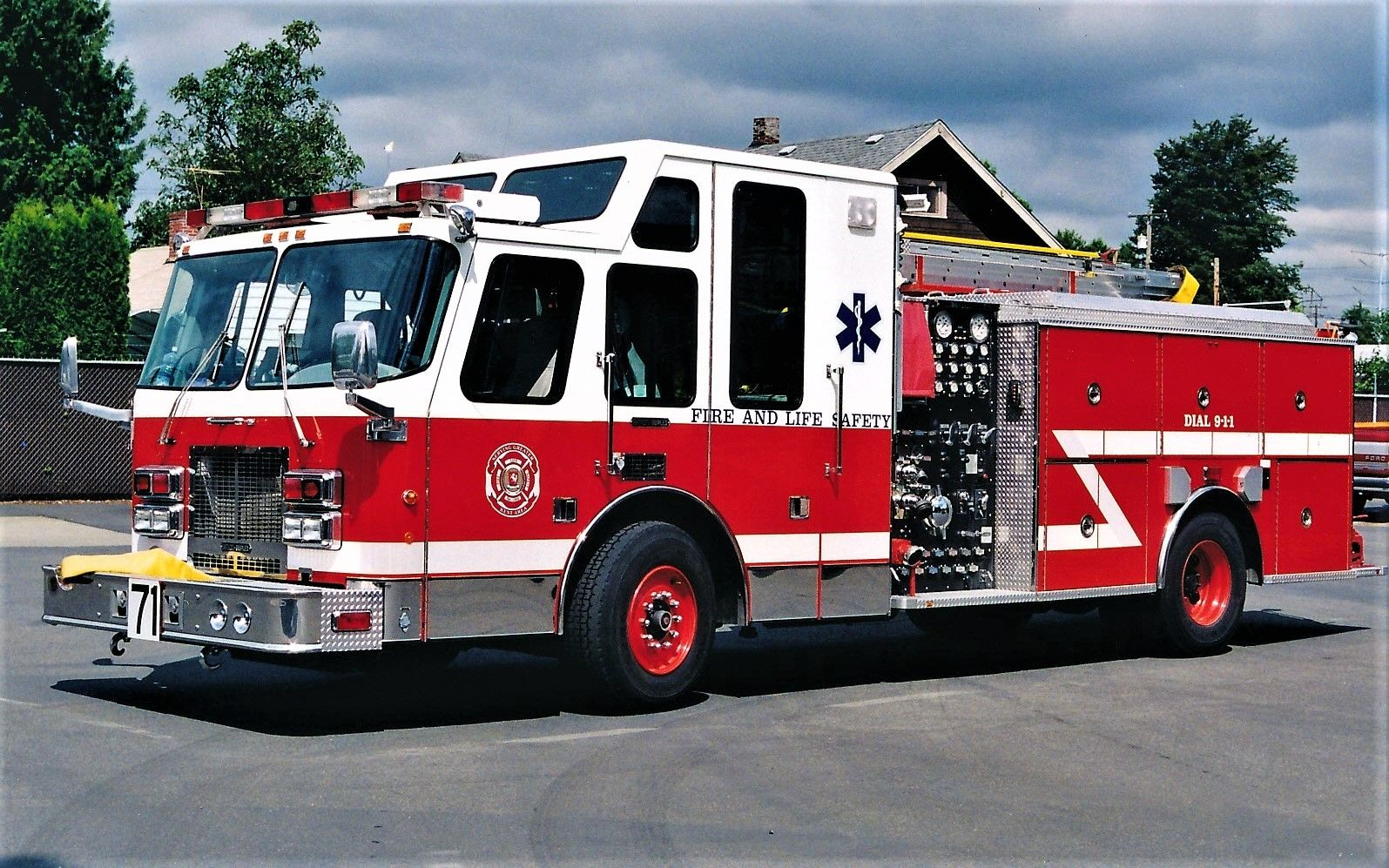 medium resolution of kent fire department engine 71 1997 simon duplex bme 1500 500