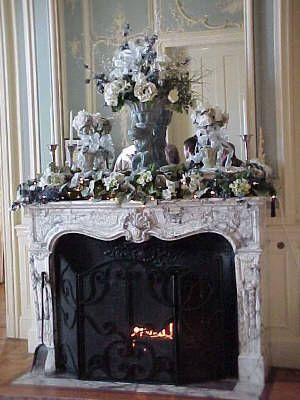 Christmas Decorated Fire Place Mantels - Bing Images I\u0027ll have a - christmas decorations for mantels