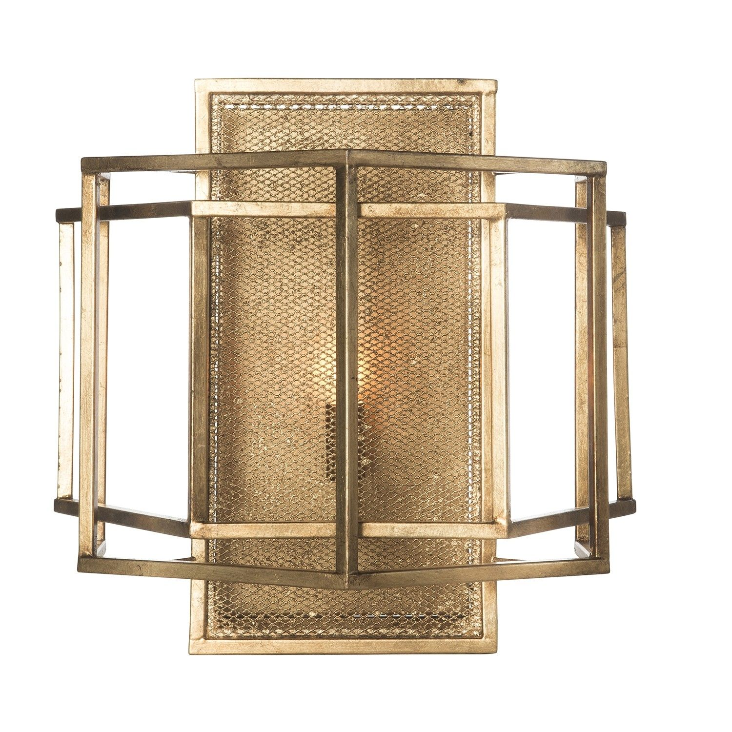 Material:+Metal Finish:+Gold Electric+Box+to+Top+of+Sconce:+7 ...