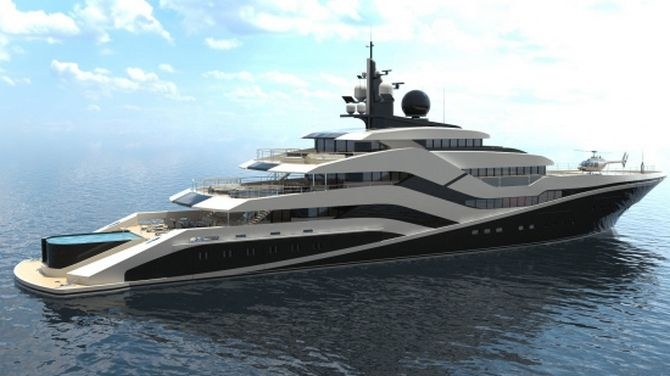Superyachten concept  The Eivissa II concept Superyacht Is trying to make a Splash ...