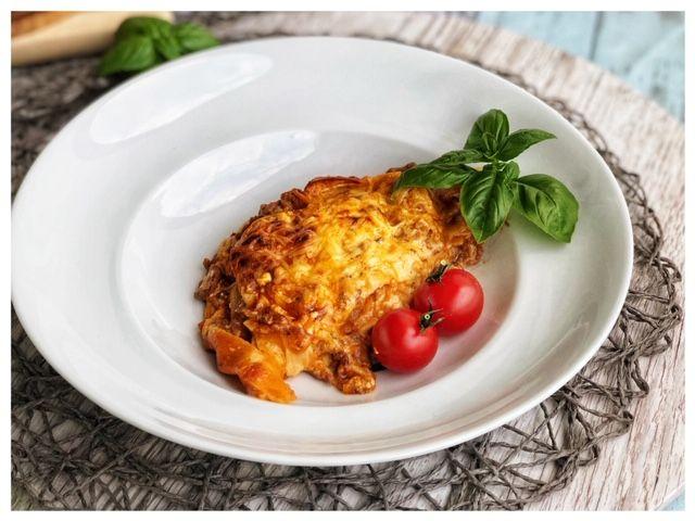 Tuerkische Lasagne aus Yufka-Blaettern l leichte Lasagne tuerkischer Art