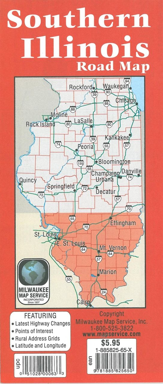 Southern Illinois Road Map in 2019 | A Slice of Southern ...