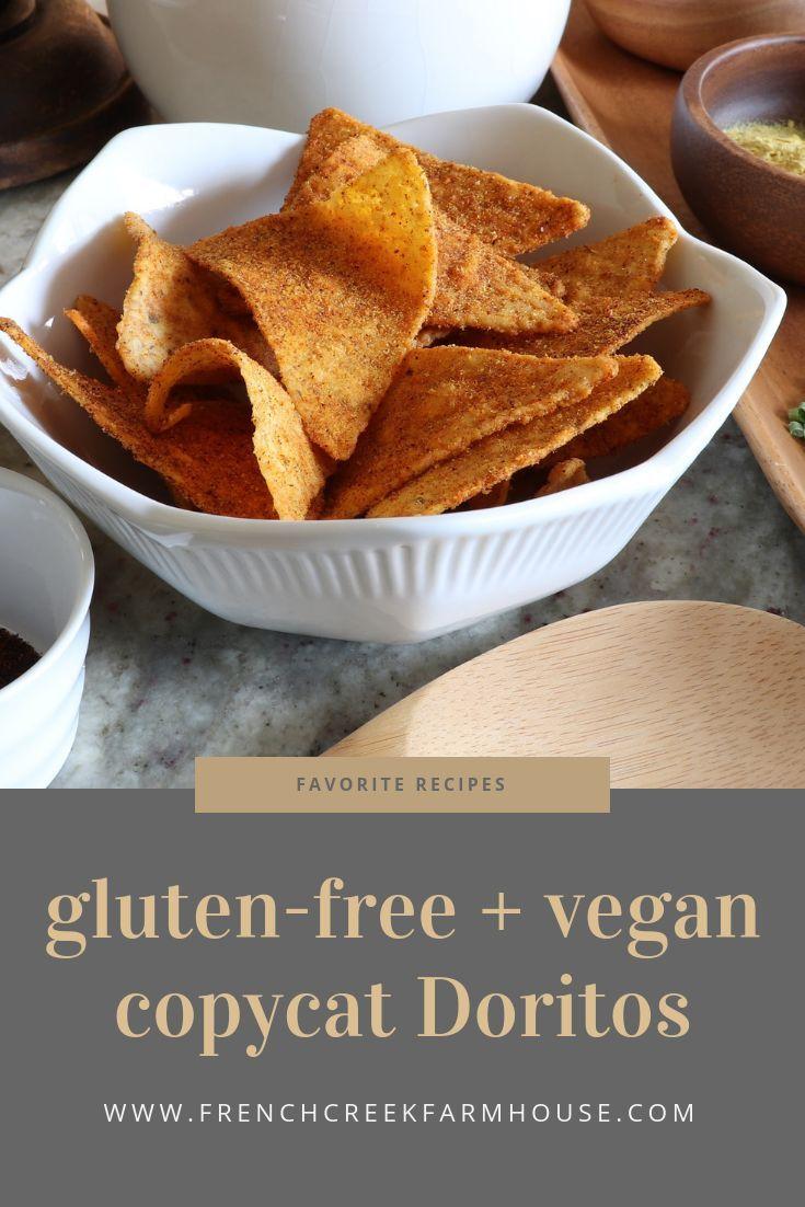 Copycat doritos glutenfree vegan french creek