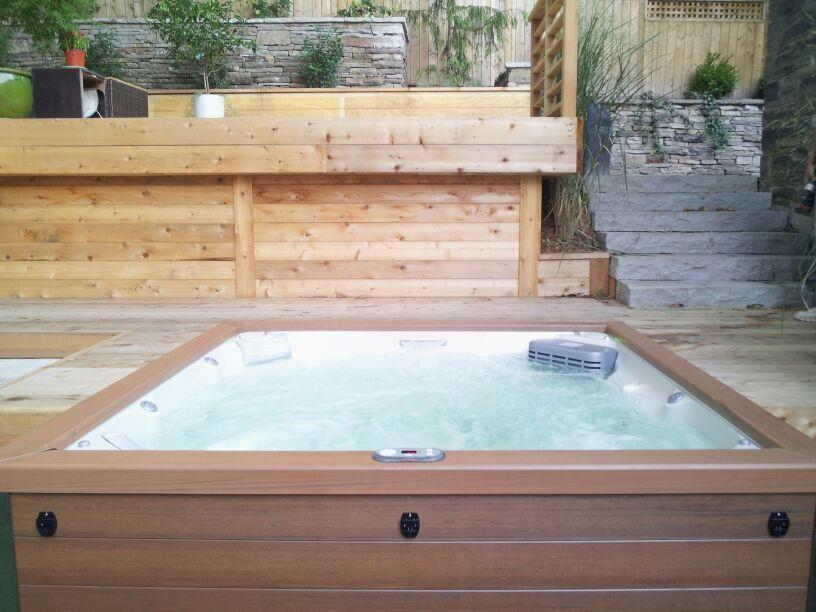 Jacuzzi J-LX®   Backyard Inspriation   Pinterest   Jacuzzi, Hot tubs ...