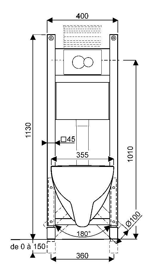 Wc Avec Lave Mains Integres Toilet Plan Plumbing Installation Wc Design
