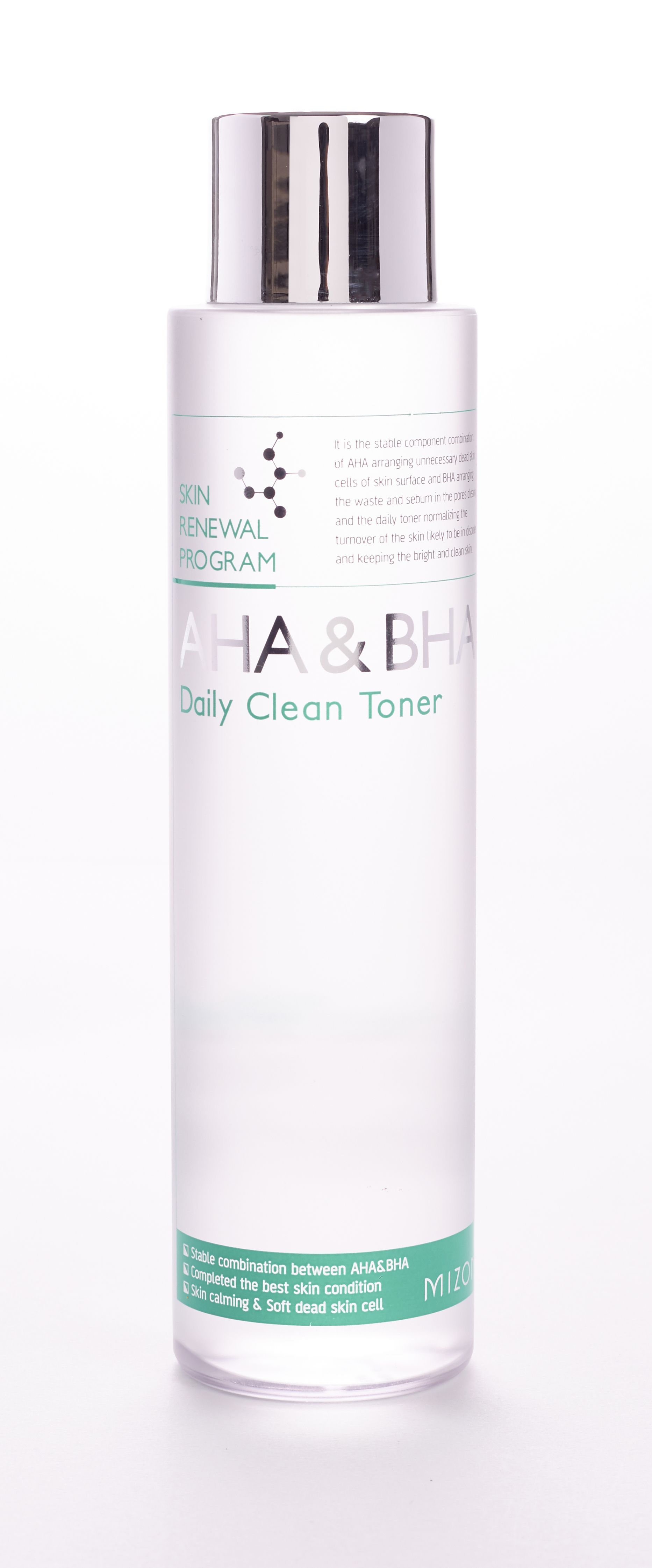 MIZON AHA & BHA DAILY CLEAN TONER Azul Exfoliate dead