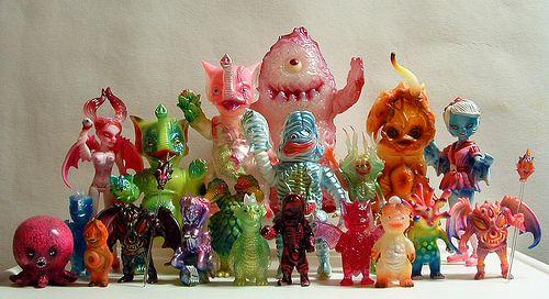 Weird asian toys
