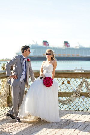 Jillian And Michael S Disney Dream Wedding Dcl Castaway Cay