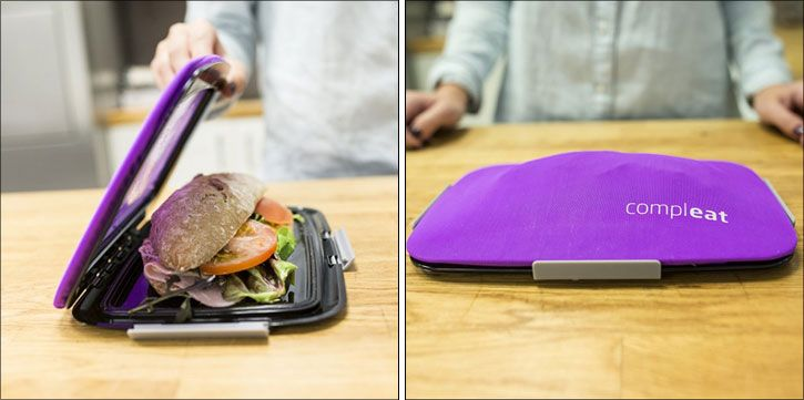 Compleat's Foodskin takes bagging your lunch to a new level while keeping your food intact