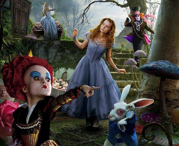 Alice I Wonderland Film Skuespillere