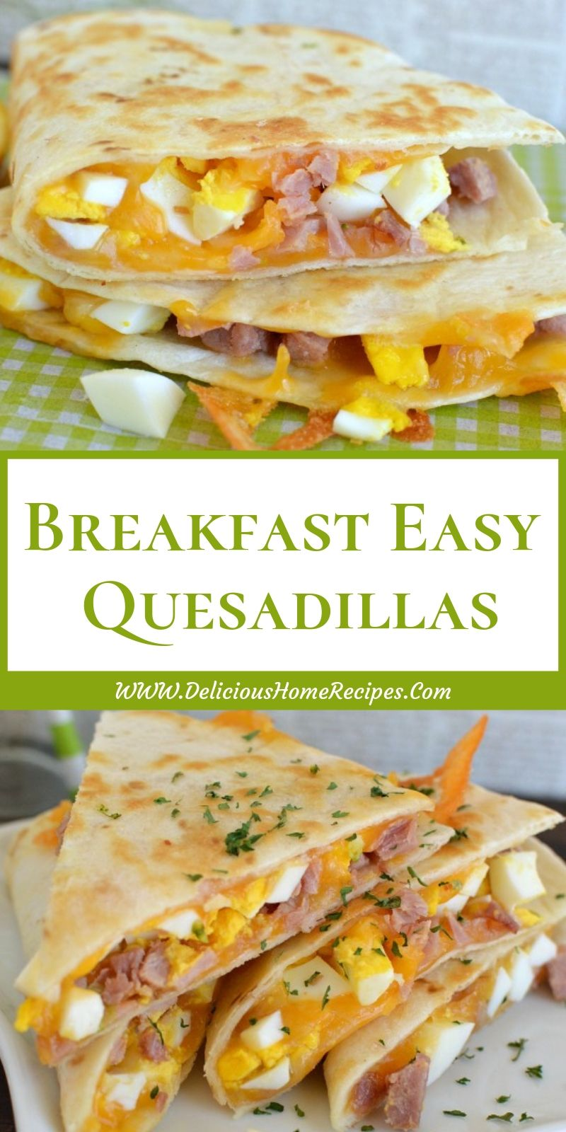 Breakfast Easy Quesadillas images