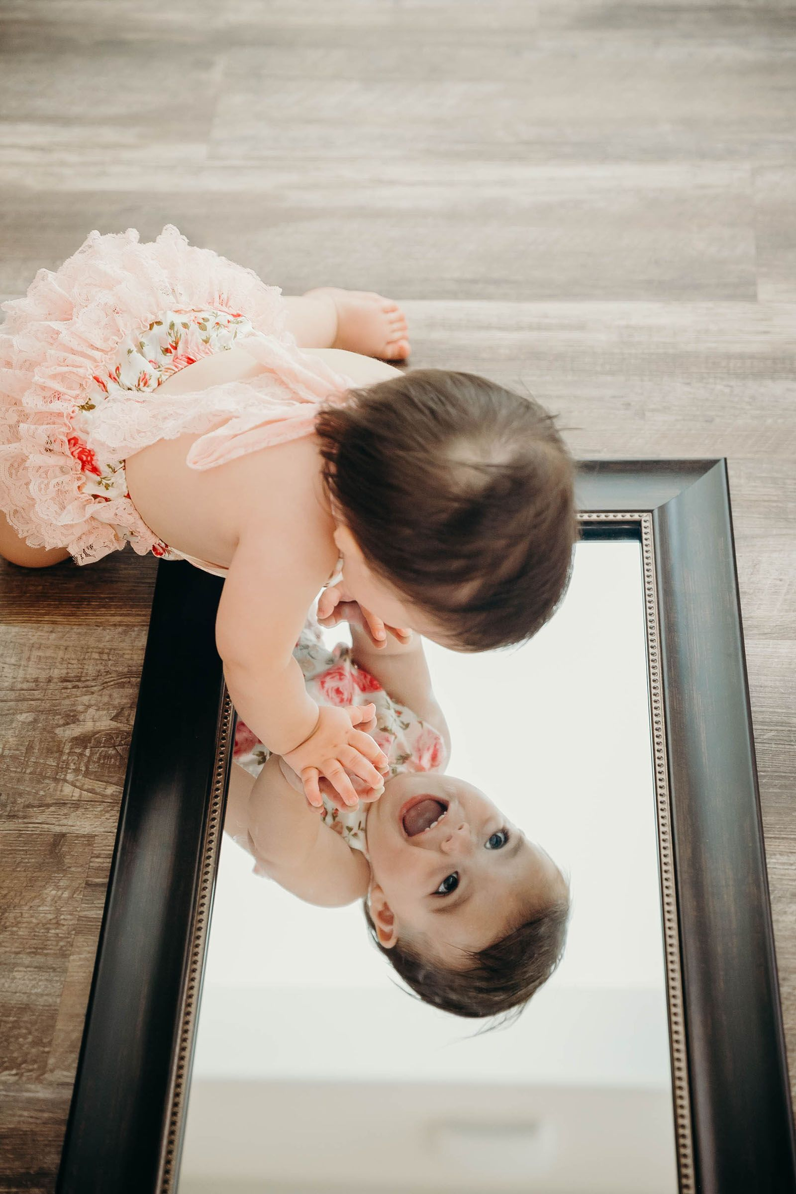 Mia - 1 Year Shoot - Aileen Aurora Photography - donut smash toddler portraits 1yearbaby