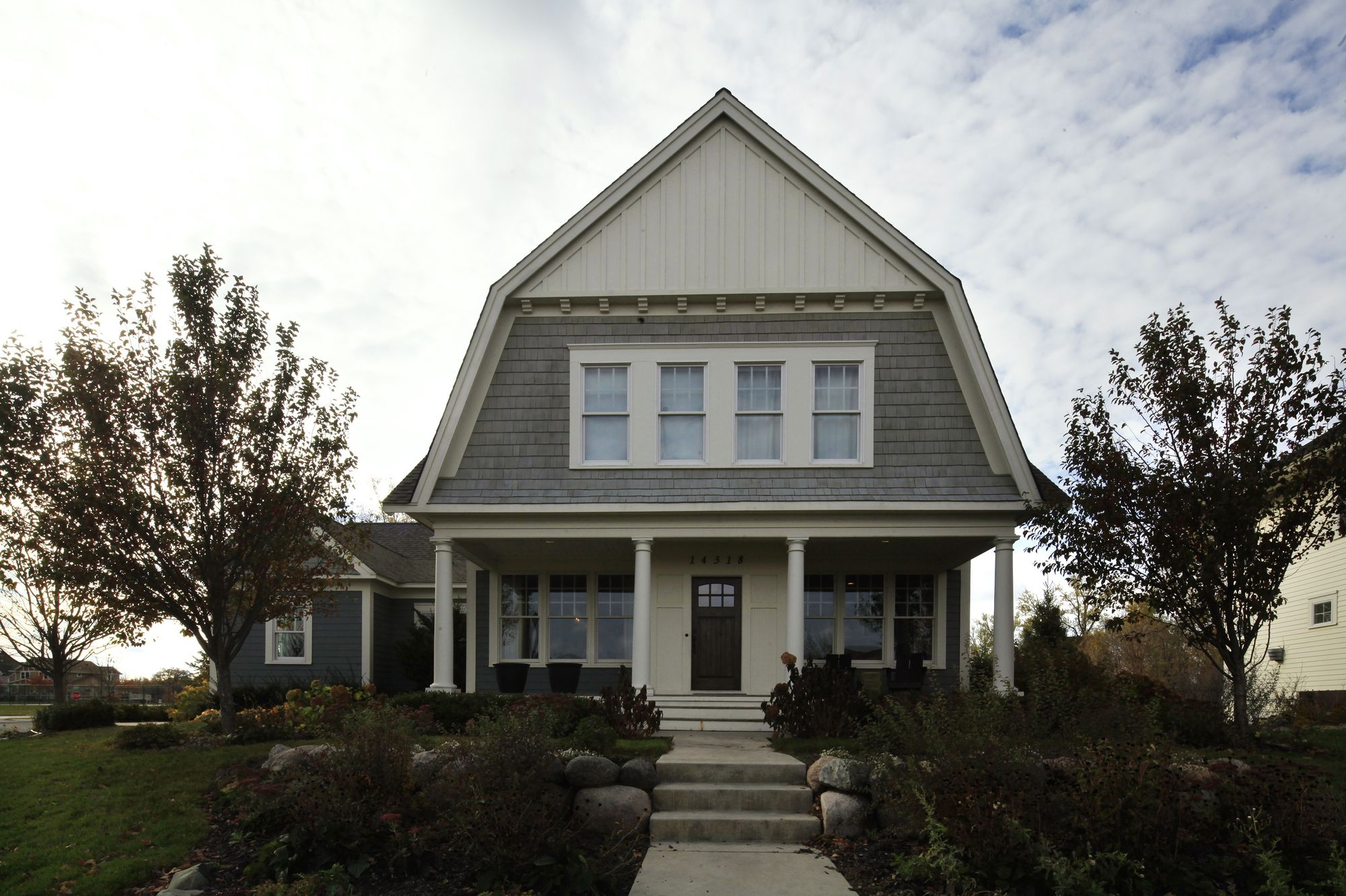 the bergers u0027 dutch colonial inspired home features a big