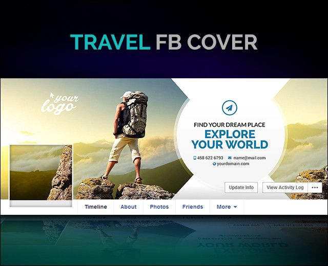 Check our #Travel #Cover #design #template to choose one that ...