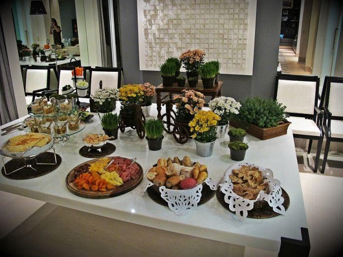 Mesa de aperitivos super florida gastronomia drinks - Aperitivos para baby shower ...