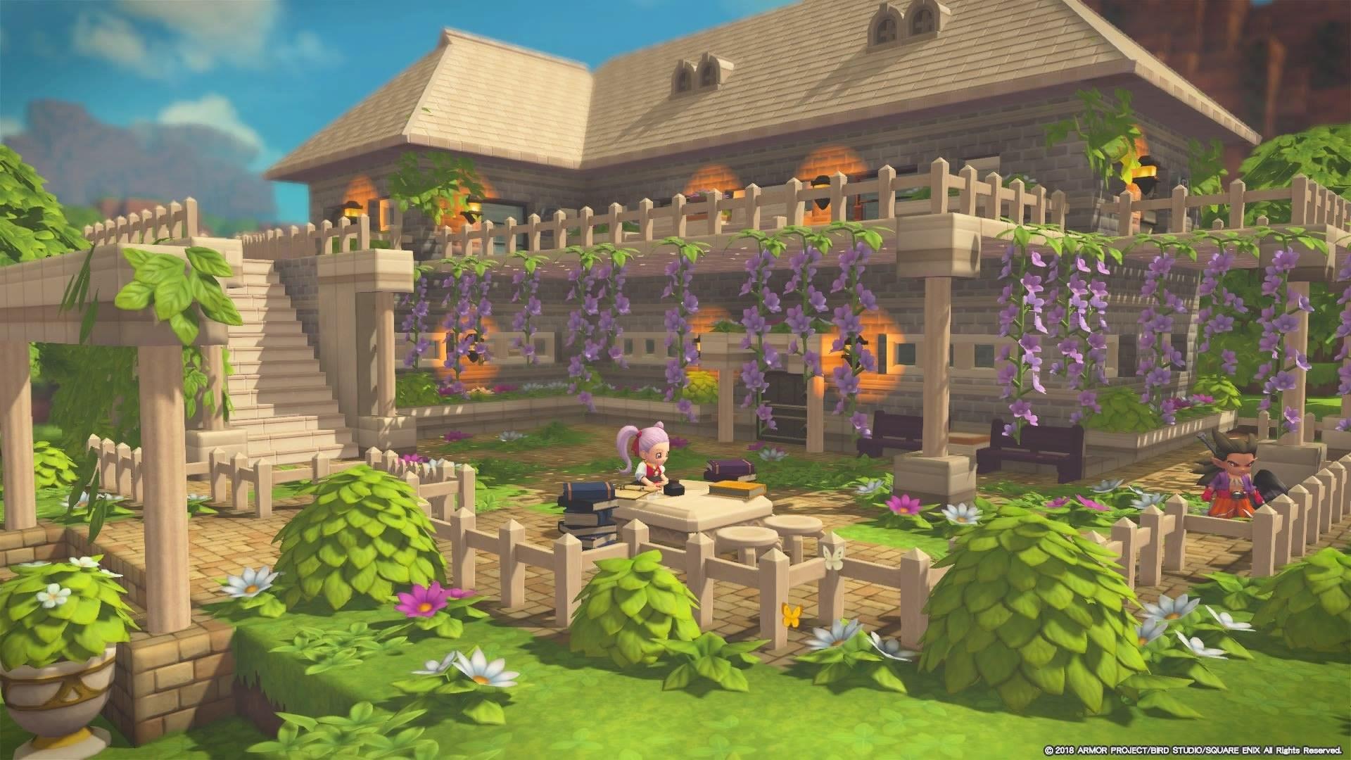 ビルダーズギャラリー ドラゴンクエストビルダーズ2 Square Enix マインクラフトの家 マインクラフト 建築